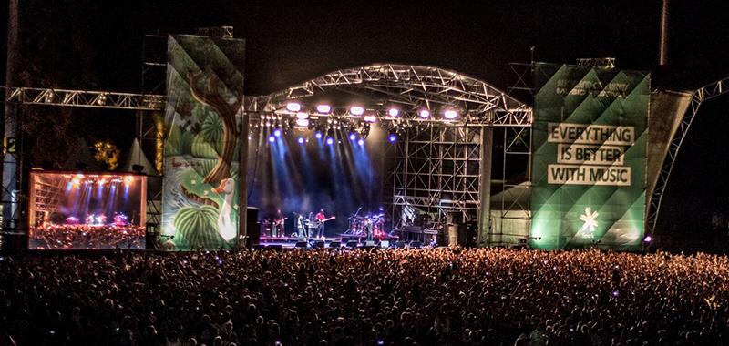 Live Nation launches new OZ Fest Sydney City limits.<br>