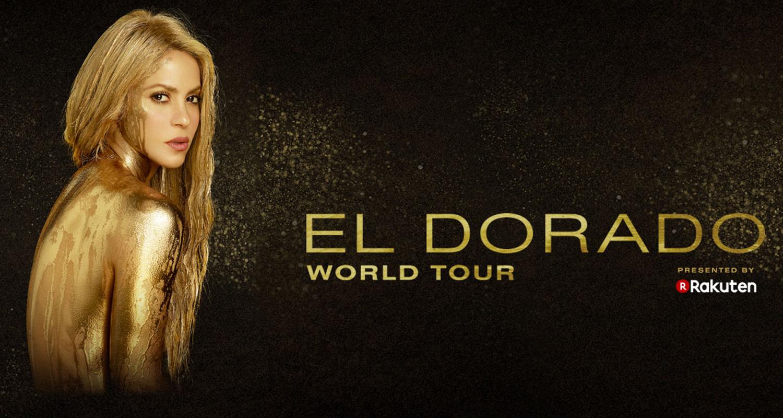 Shakira y su gira El Dorado World Tour se pospone hasta 2018.<br>