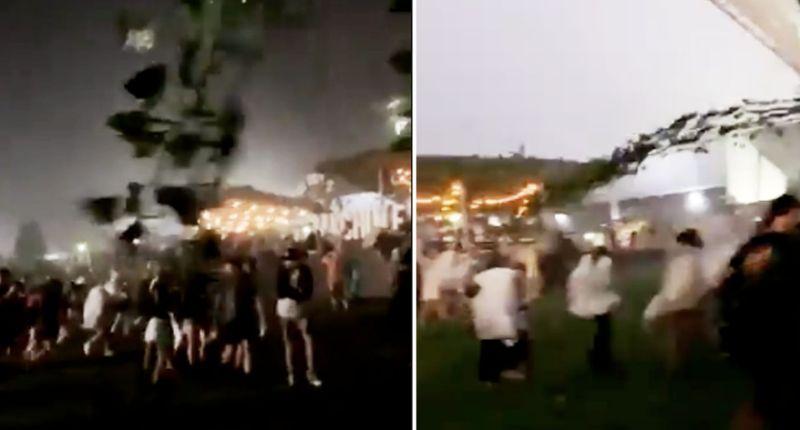 <div>Fans criticise evacuation on NSW Wine Machine Event</div>