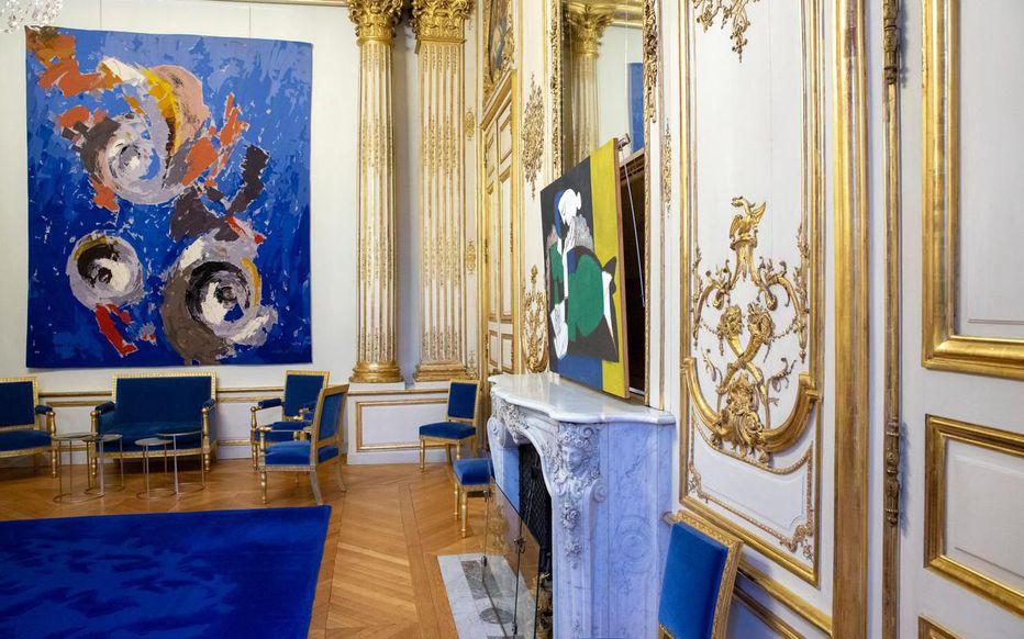 <div>Vols d'œuvres d'art : à l'Elysée, les inventaires sont devenus plus stricts.</div>