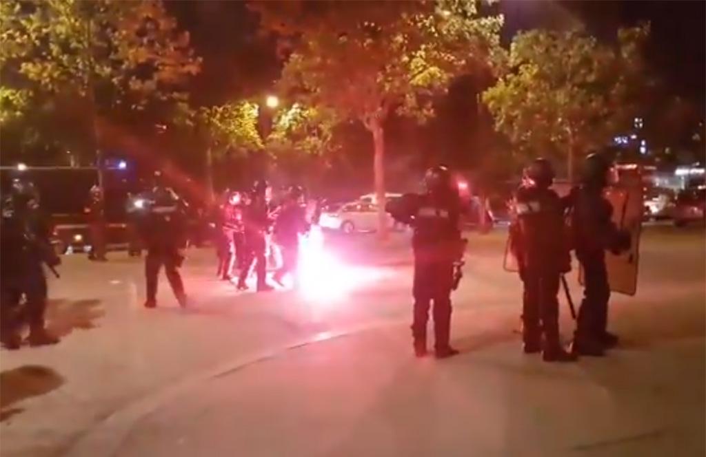 Paris : Incidents dans le secteur des Champs-Élysées après la victoire de l'Algérie en quart de finale de la CAN