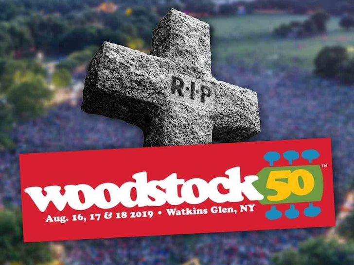 <div>Woodstock 50 Officially Canceled as Concert Co-Founder Blames 'Unforeseen Setbacks'</div>