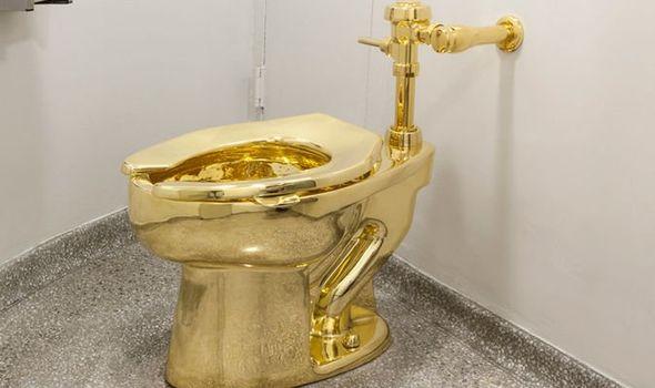 <div>Insurers on alert after Blenheim Palace £4.8m gold toilet stolen.</div>