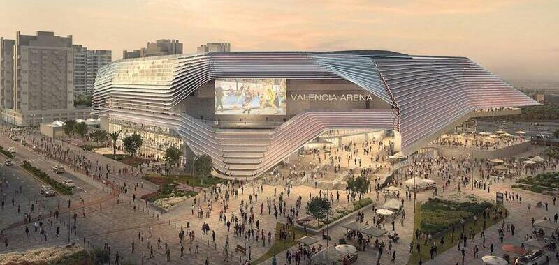 <div>Valencia Arena to be the biggest in Spain.</div>