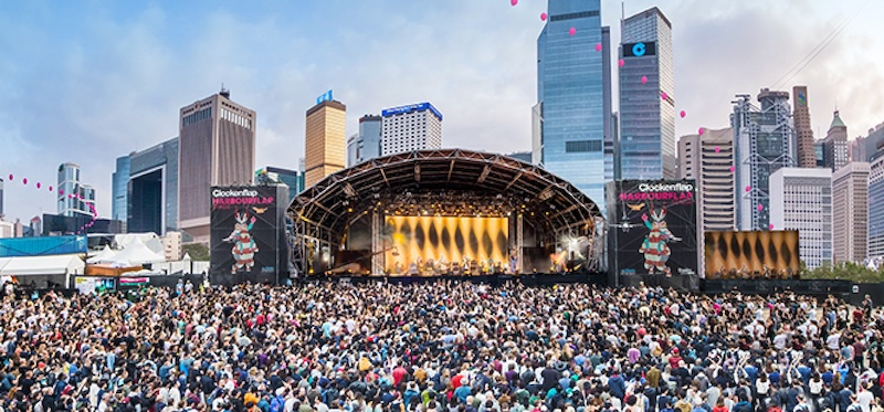 <div>Clockenflap organisers confirm event will go ahead.</div>
