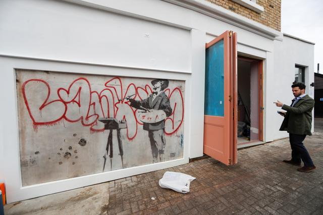 <div>Hidden Banksy mural to be uncovered in heart of London's Notting Hill</div>